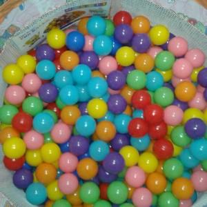 توپ کوچک پلاستیکی (8)