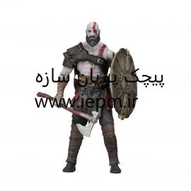 اکشن فیگور نکا طرح god of war4 کد 0004