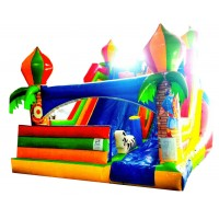 infalable slide inflatable ball pool jumping sorsore badi