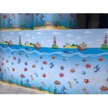 دیوارپوش مهدکودک طرح دریا نمو